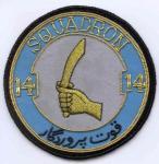 Pakistan Air Force 14 Sqn Bullion Patch