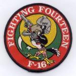 Pakistan Air Force 14 Sqn - Fighting Fourteen F-16