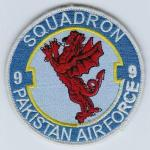 Pakistan Air Force 9 Sqn patch