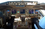 Cockpit of PIA Boeing 777